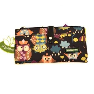 LILY BLOOM What A Hoot Liza Travel Wallet